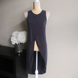 ASTR The Label Knot-Front Top Tunic